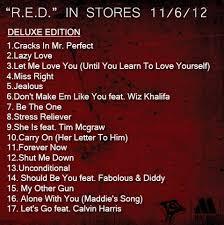 Cd Song List Ne Yo R E D Album Cover Track List Hiphop N More