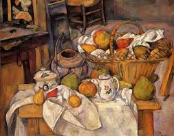 kitchen paintingpaul cezanne the kitchen table art 25759  paul cezanne the