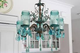 amazing diy mason jar chandelier 1 500x333