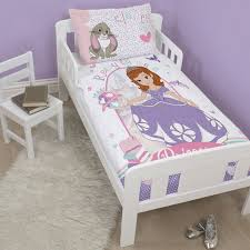 Sofia The First Bedroom Accessories Character Disney Junior Toddler Bed Duvet Covers Bedding Sofia