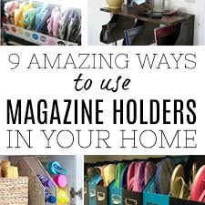 Magazine Holder Uses 100 Amazing ways to use magazine holders as storage in your home 43