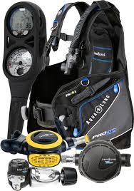 Aqualung Essential Pro Hd Bcd Titan Reg I300c Comp Octo Package