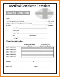 Doctors Excuse Note For Work Template Absence Sample Pdf