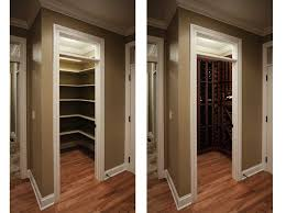 wine room ideas. View Into A Small Closet Converted Wine Room Showing Vigilant Kit And Custom Ideas T