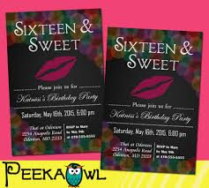 lovely invitations for sweet 16 birthday 57 for your card picture images with invitations for sweet