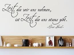 Zeit Die Wir Uns Nehmen Zitat Ernst Ferstl Wandtattoo