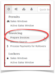 Prepare Invoice Permit Invoicing Ops Com Parking Security Management Wiki
