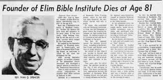 Ivan Spencer's obituary - Newspapers.com