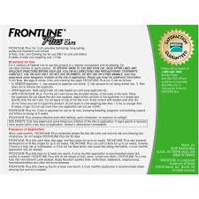 Frontline Plus For Cats And Kittens 1 5 Lbs And Over Flea