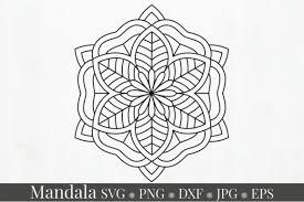 Coronavirus , summer , cricut svg , silhouette , svg cut file. Mandala Svg Bundle Split Mandala Half Graphic By Alyviaskye Creative Fabrica