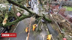 Typhoon Goni: Philippines <b>hit</b> by <b>year's</b> most powerful storm - BBC ...