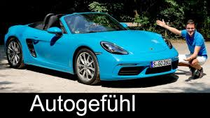 2018 porsche 718 spyder. perfect porsche porsche 718 boxster full review test driven 2018  autogefhl in porsche spyder