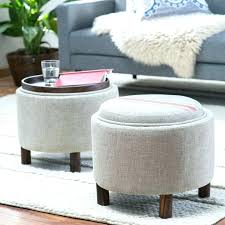 round ottoman coffee table ottoman and coffee table medium size of coffee table ottomans large storage