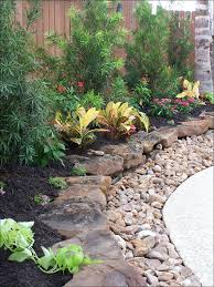 Find out more about Flat rocks with gravel to edge plant beds. Might do  panorama flat stones with g
