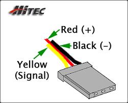 servo wiring information hitec connector wiring