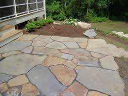 Unique Natural Patio Stones Great Example Of Well Put Together Throughout Modern Design