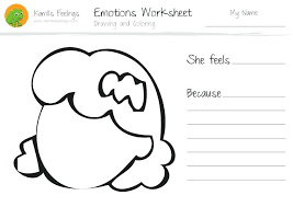 Feelings Coloring Pages And Drawing And Coloring Emotions ...