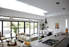 Kitchen And Living Room Combined Designs With Glass Windows Interior Design Ideas For Kitchen And Living Room
