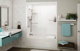 Bathroom Ideas Blue Acrylic Shower Tub Combo With Free Standing Acrylic Shower Tub Combo