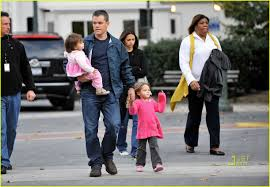Matt Damon: Adjustment Bureau Family Fun Day!: Photo 2313842 | Celebrity  Babies, Gia Damon, Isabella Damon, Luciana Damon, Matt Damon Pictures