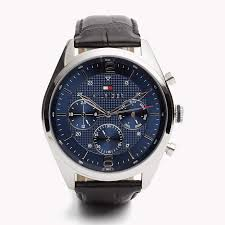 leather strap watch multi tommy hilfiger® 7613272191050 tommy hilfiger leather strap watch multi tommy hilfiger watches main image
