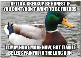 Perhaps this breaks some unwritten rule about breakups, but it's ... via Relatably.com