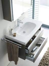 small bathroom vanity with drawers. Cool Blue Vanity Small Bathroom With Drawers