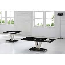 stylish black lamp tables for living room and chic black and glass end tables living room