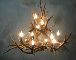 large size of lighting exquisite real antler chandelier 23 505 12 20lt medium muledeer ponderosa real