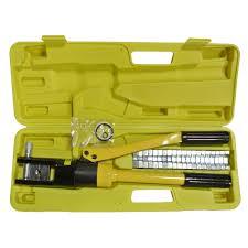 Yqk 70 Die Chart Yqk 300 16t Hydraulic Crimping Tool 11 Dies Hydraulic Pliers
