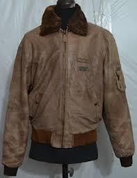 rebel by rino pelle men s flight er leather jacket with removable fur collar liner c 33 1 6 kg