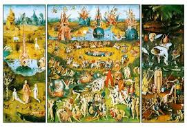 garden of earthly delights poster. Hieronymus Bosch Garden Of Earthly Delights Art Poster Print 2