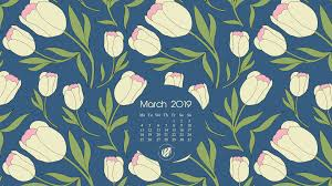 March 2019 free calendar wallpapers ...