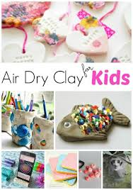 air dry clay projects for kids red ted art s blog