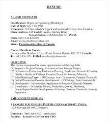 Resume Pdf Templates Jobs Resume Format Job Resume Formats Sample ...