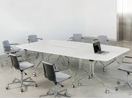tables on wheels office. Modular Rectangular Meeting Table Pikappa By Lamm Design Justus Conference Tables On Wheels Kolberg Prodotti Office N