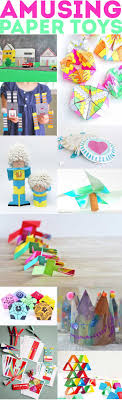 60+ Paper Crafts for kids and adults from the Rockin' Art Moms. Paper