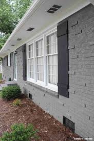 Light Grey Brick House Best Color Shutters For Light Grey House House Paint