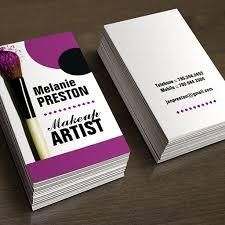 makeup artist business cards ideas 300 creative and inspiring business card designs bizcardstudio template