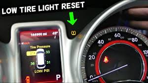 2009 Dodge Journey Warning Lights How To Reset Tpms Light On Dodge Journey Low Tire Warning Light Fiat Freemont