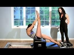 Pilates Reformer Workout Chart Pilates Beginner Reformer Workout With Kathi Ross Nash