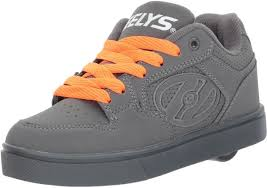 Heelys Boys Motion Plus Sneaker Charcoal 8 Medium Us Big