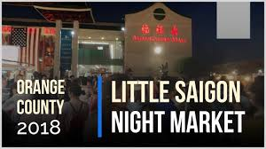 the night market in little saigon in the oc