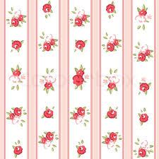 Rose Pattern Cool Vintage Rose Pattern Seamless Vector Rose Wallpaper Stock Vector