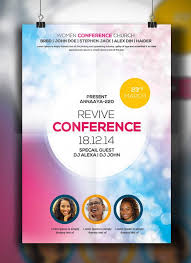 Free Church Conference Psd Flyer Free Psd Flyer Templates