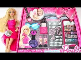 barbie big makeup set toys kids