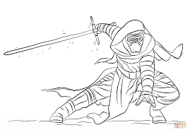 Kylo Ren coloring page | Free Printable Coloring Pages