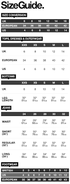 Superdry Size Chart Shoes Superdry Size Guide Uk Menswear