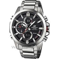 men s casio edifice bluetooth hybrid smartwatch alarm chronograph mens casio edifice bluetooth hybrid smartwatch alarm chronograph watch ecb 500d 1aer