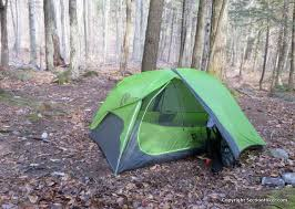 the nemo hornet 2p is an ultralight double walled two person tent with two doors